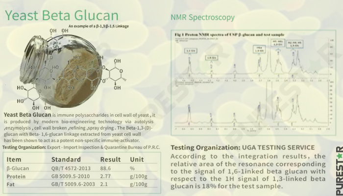 yeast beta glucan powder