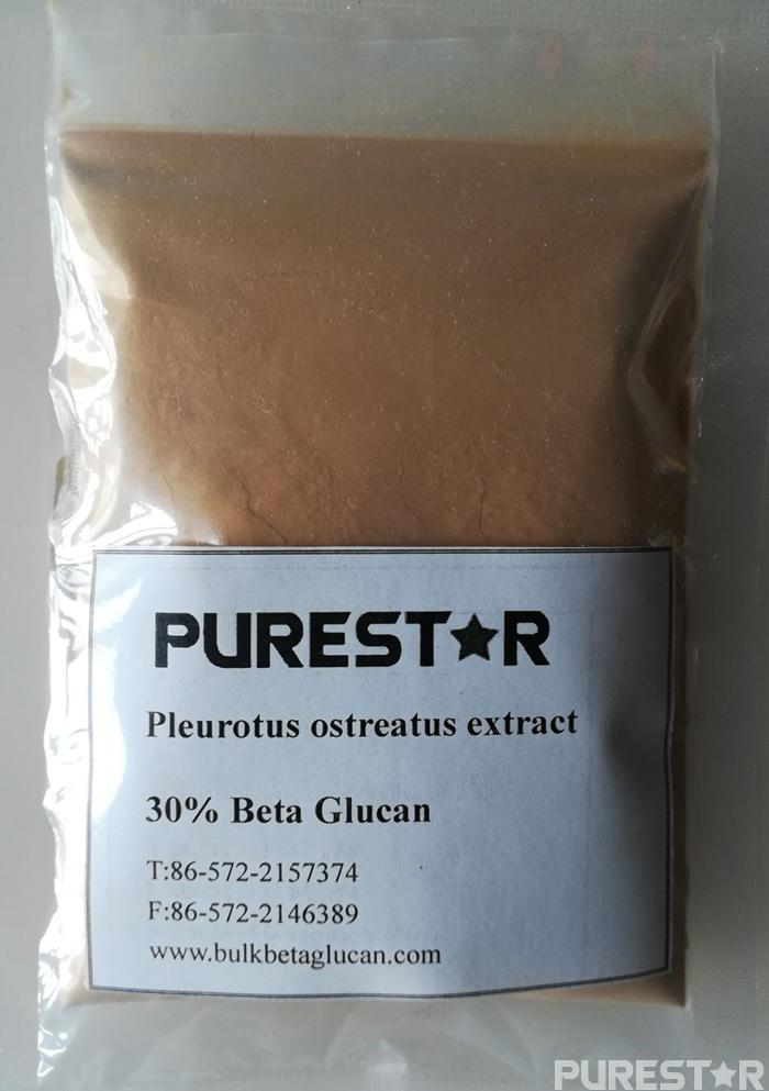 Pleurotus ostreatus extract beta glucan 30%